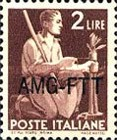 [Democracy - Italy Postage Stamps of 1945 Overprinted
