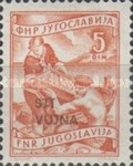 [National Economy - Yugoslav Postage Stamps of 1952 Overprinted