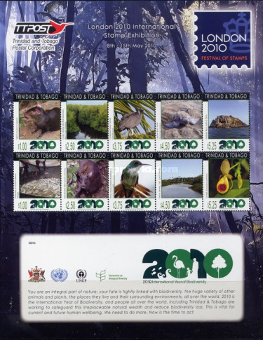 [International Year of Biodiversity - International Stamp Exhibition LONDON 2012, type ]