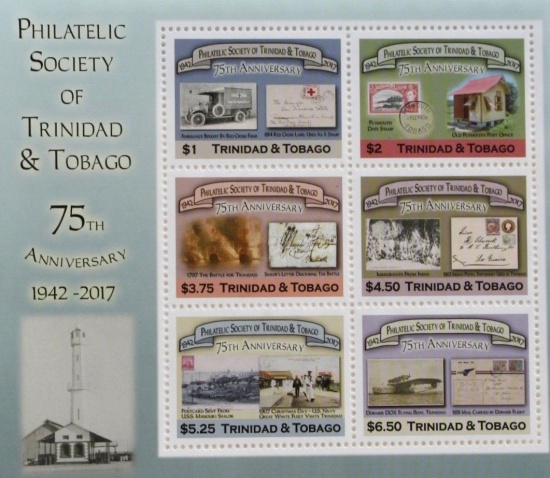 [The 75th Anniversary (2017) of the Philatelic Society of Trinidad And Tobago, Typ ]