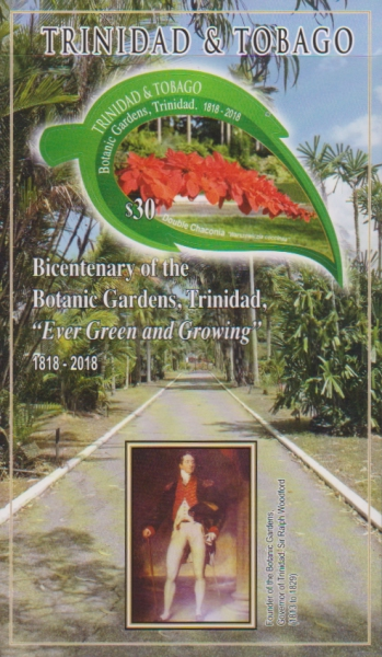 [The 200th Anniversary of the Botanic Gardens - Port Of Spain, Trinidad, Typ ]