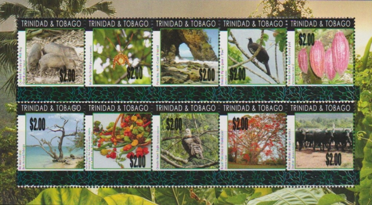 [International Year of Biodiversity Sheet of 2010 Trimmed and Surcharged, type ]