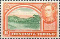 [King George VI, Landscapes and Buildings, Typ AG]