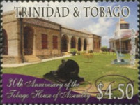 [The 30th Anniversary of the Tobago House of Assembly, type AGA]