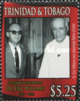 [The 100th Anniversary of the Birth of Dr. Eric Williams, 1911-1981, Typ AGT]
