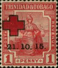 [Red Cross - No. 2 Overprinted, Typ C]