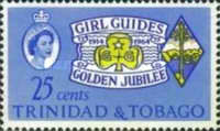 [The 50th Anniversary of Trinidad and Tobago Girl Guides' Association, Typ CD1]