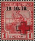 [Red Cross - No. 2 Overprinted, Typ D]