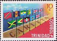[The 1st Anniversary of Caribbean Free Trade Area or CARIFTA, Typ DR]