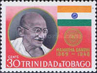 [International Year commemorating the 100th Anniversary of the Birth of Mahatma Gandhi, 1869-1948, type EK]