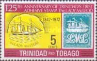 [The 125th Anniversary of First Trinidad Postage Stamp, type FR]