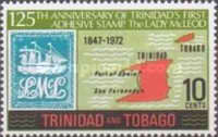 [The 125th Anniversary of First Trinidad Postage Stamp, type FS]