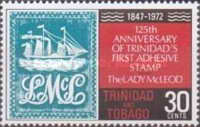 [The 125th Anniversary of First Trinidad Postage Stamp, type FT]