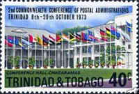 [The 2nd Commonwealth Conference of Postal Administrations, Trinidad, Typ GO]