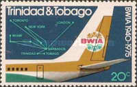[The 35th Anniversary of British West Indian Airways or BWIA, Typ GX]