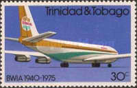 [The 35th Anniversary of British West Indian Airways or BWIA, Typ GY]