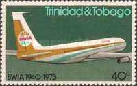 [The 35th Anniversary of British West Indian Airways or BWIA, Typ GZ]