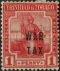 [War Tax - No. 2 Overprinted, Typ J]