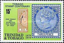 [The 100th Anniversary of Tobago Stamps, Typ JF]