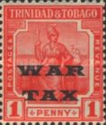 [War Tax - No. 2 Overprinted, Typ K]