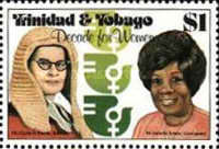 [The United Nations Decade for Women - Women of Trinidad and Tobago, Typ KF]