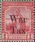 [War Tax - No. 1bA Overprinted, Typ L1]