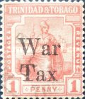 [War Tax - No. 1bA Overprinted, Typ L3]