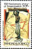 [The 150th Anniversary of Abolition of Slavery, Typ NG]