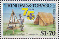[The 75th Anniversary of Trinidad and Tobago Boy Scouts, Typ OK]