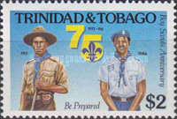 [The 75th Anniversary of Trinidad and Tobago Boy Scouts, Typ OL]