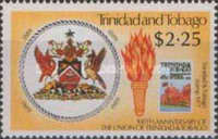 [The 100th Anniversary of Union of Trinidad and Tobago, Typ QC]