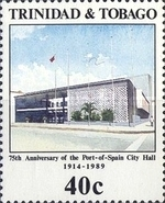 [Anniversaries and Events - The 75th Anniversary of Blind Fund, the 75th Anniversary of Port-of-Spain City Hall, the 75th Anniversary of Scouts, and the 50th Anniversary of National Red Cross, Typ QJ]