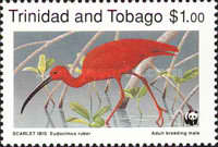 [Worlwide Nature Protection - Scarlet Ibis, Typ QW]