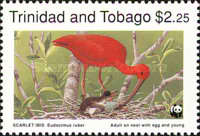 [Worlwide Nature Protection - Scarlet Ibis, Typ QX]