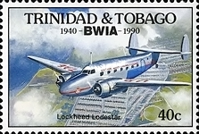 [The 50th Anniversary of British West Indies Airways or BWIA, Typ RC]