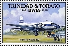 [The 50th Anniversary of British West Indies Airways or BWIA, Typ RD]