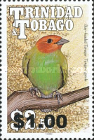 [Birds - Issue of 1990 Surcharged, Typ RO1]