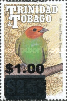 [Birds - Issue of 1990 Surcharged, Typ RO2]