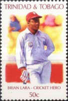[Cricket Player Brian Lara Commemoration, Typ TM]