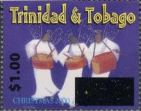[Christmas - Stamps of 2000-2002 Surcharged, Typ UN1]