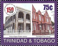 [The 150th Anniversary of National Library in Trinidad and Tobago, type VC]