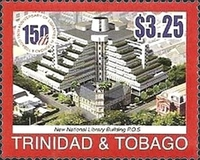 [The 150th Anniversary of National Library in Trinidad and Tobago, Typ VD]