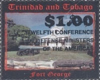 [The 12th Conference of Defence Ministers of the Americas - Stamps of 2002 Surcharged, Typ VZ1]