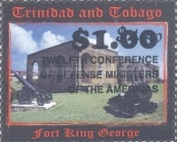 [The 12th Conference of Defence Ministers of the Americas - Stamps of 2002 Surcharged, Typ WA1]