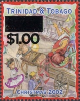 [Christmas - Stamps of 2000-2002 Surcharged, Typ WI1]