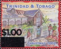 [Christmas - Stamps of 2000-2002 Surcharged, Typ WK1]
