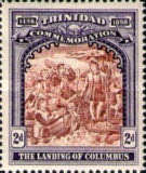 [The Landing of Columbus - The 400th Anniversary of the Discovery of Trinidad, type K]