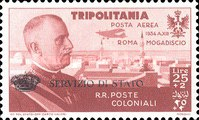 [Airmail - Victor Emmanuel III of Italy, Typ A]