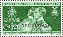 "[Royal Wedding - Not Issued Stamps Overprinted ""TRIPOLITANIA"", Typ AN]"