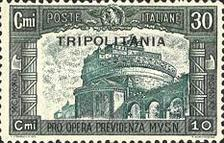 "[Not Issued Stamps Overprinted ""TRIPOLITANIA"", Typ AQ]"